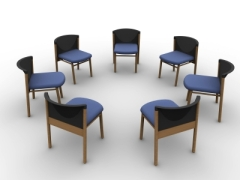 meeting chairs in a circle