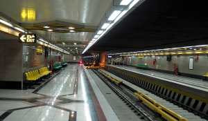Tehran-subway-station